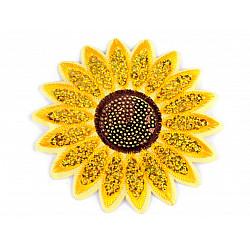 Aplicatie termoadeziva - Floarea soarelui - D: 10cm
